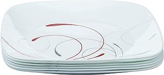 Corelle Square Splendor 10-1/4-Inch Plate Set (6-Piece)