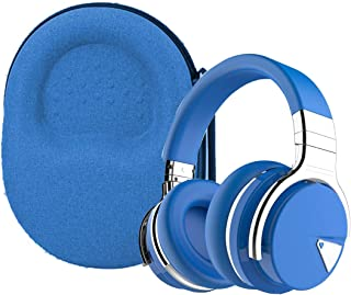 Aenllosi Hard Carrying Case for COWIN E7/E7 PRO Active Noise Cancelling Headphones Bluetooth Headphones (Blue)