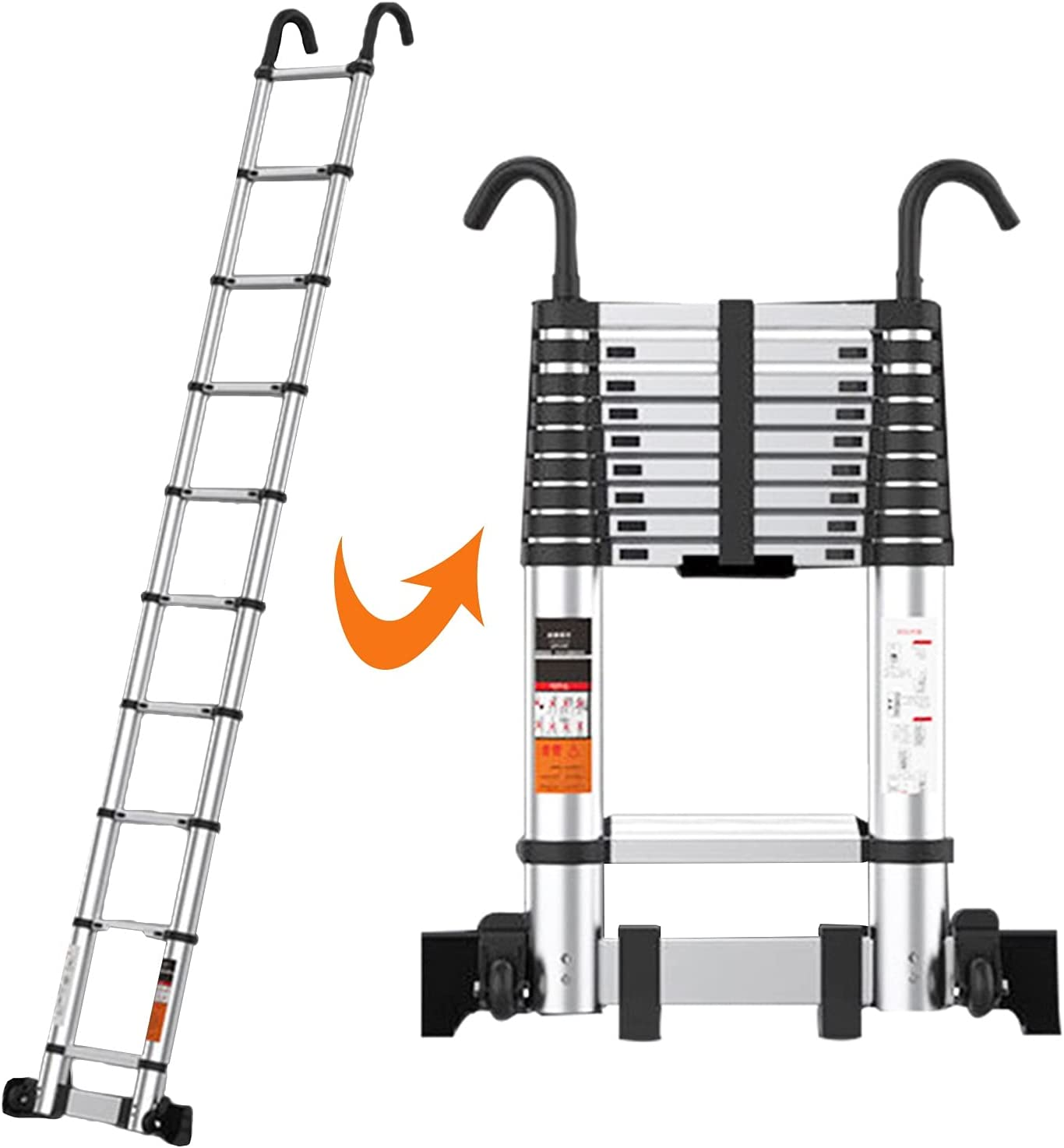 Under blast sales Telescopic Ladder 2.7m 3.5m 3.9m 4.7m 7.1m T 5.5m 5.9m 5.1m Special price for a limited time 6.3m