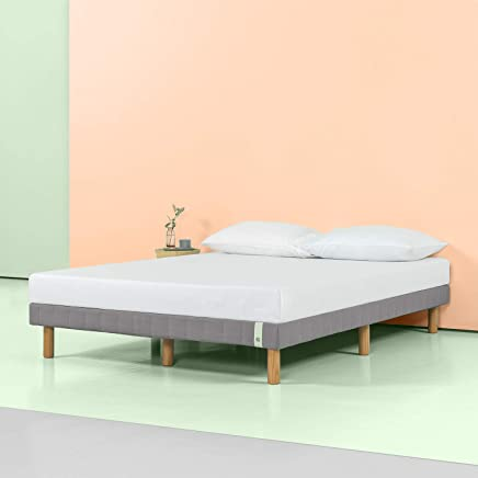 Zinus 11 Inch Quick Snap Standing Mattress Foundation Low profile Platform  Bed No Box 124a9800a