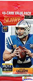 2019 Score NFL Football AWESOME Factory Sealed JUMBO FAT PACK with 40 Cards Including (6) ROOKIES, (3) PARALLELS & (4) INSERTS! Look for RC's & Autos of Kyler Murray, Dwayne Hoskins & More! WOWZZER!