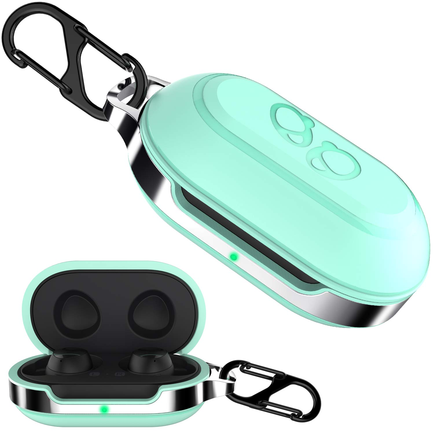 Amazon Com Halleast Galaxy Buds Case Cover Tpu Hard Protective Earbuds Case For 2019 2020 Samsung Galaxy Buds Plus Case Support Wireless Charging Mint Green Electronics Case for samsung galaxy note 20 ultra / galaxy note20 ultra 5g 0 review cod. halleast galaxy buds case cover tpu hard protective earbuds case for 2019 2020 samsung galaxy buds plus case support wireless charging mint