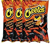 Cheetos Crunchy Xxtra Flamin' Hot Snack Care Package for College, Military, Sports Net Wt 2 1/4 Oz (3)