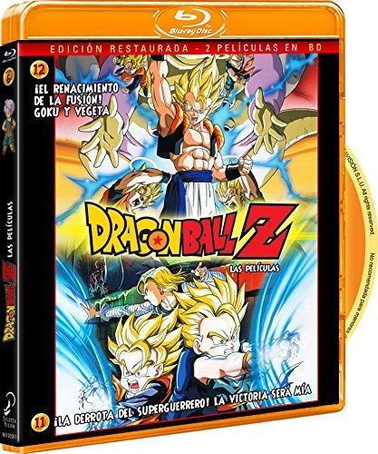 Pack Dragon Ball Z-¡La Derrota Del Super Guerrero! La Victoria Será Mía+ ¡El Renacimiento De La Fusión! Goku Y Vegeta [Blu-ray]