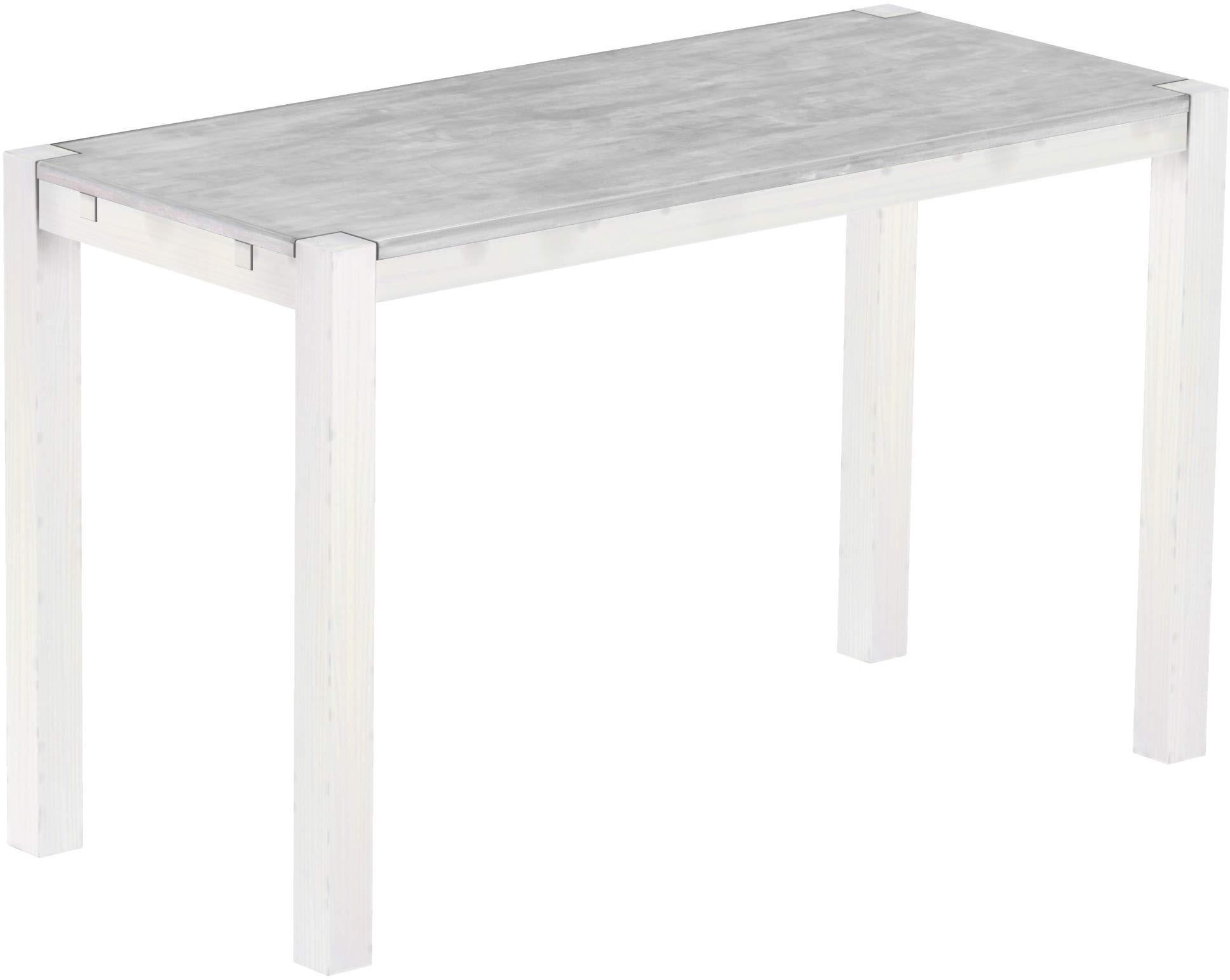 120x70x6 cm Bianco Viscio Trading Marshall Tavolo
