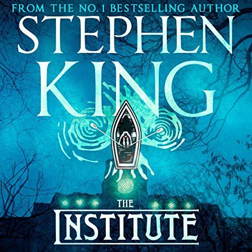 The Institute audiobook cover art