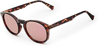 Hawkers - Dark Carey Rose Gold BEL-AIR unisex sunglasses, TR18 UV400