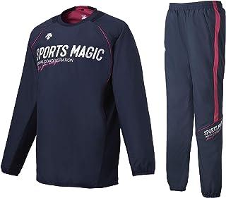 (デサント) DESCENTE Sports Magic バレーボール ウォーマージャケット・パンツ上下セット DVUMJF30/DVUMJG30 裏地:トリコット起毛 ウインドブレーカー上下セット