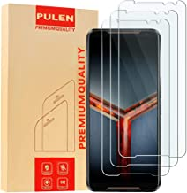 [3 Pack] PULEN for Asus ROG Phone 2 ZS660KL(2019) Screen Protector,HD Anti-Fingerprints Scratch Resistance Bubble Free 9H ...