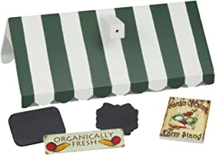 18 Inch Doll Farm Stand Roof & 5 Farm Stand Signs for Our Interchangeable Doll Shoppe! Buy Stand Separately and Other Signs to Create Many Shoppes Compatible With American Girl Accessories & Furniture