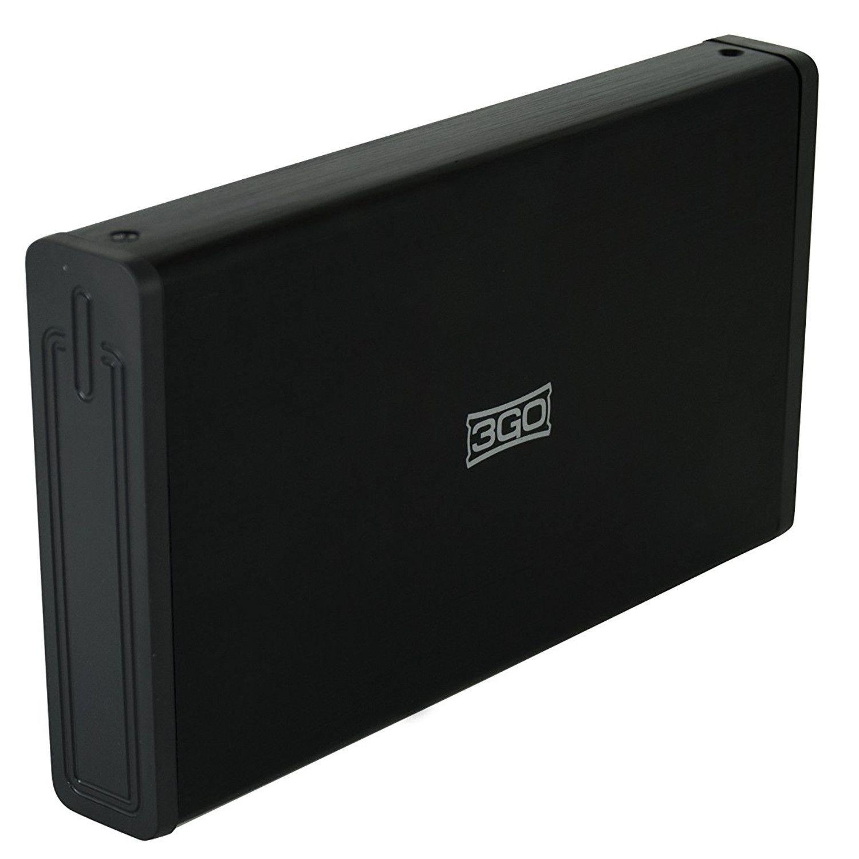 3GO HDD35BK312 Caja para Disco Duro Externo 3.5