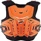Leatt - Protector de pecho unisex para niño (naranja, juvenil)
