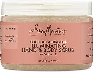 Shea Moisture Coconut and Hibiscus Hand and Body Scrub, 340 g
