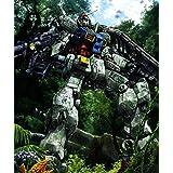 機動戦士ガンダムSEED Gundam Seed Anime silk fabric poster シルクファブリックポスター 90cm x 80cm