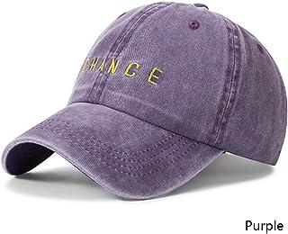 MKJNBH Unisex Letters Embroidery Baseball Cap Adult Men Women Hip Hop Dad Hat Bone