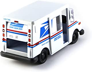 United States Postal Service Mail Delivery Truck Diecast Model Toy Car in White