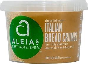 Aleia's Gluten Free Italian Bread Crumbs 13 oz, Pack of 1