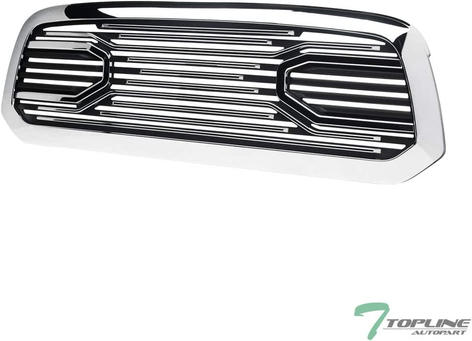 Topline Time quality assurance sale Autopart Chrome Big Horn Horizontal Style Hood Bum Front