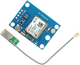Exiron 1PCS NEO-6M GY-NEO6MV2 GPS Module with Antenna Flight Controller Arduino MWC IMU