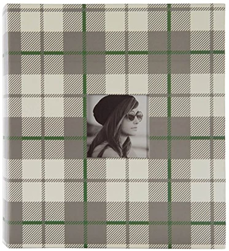 Pinnacle Frames and Accents Magnetic Tartan Front Album, Multi