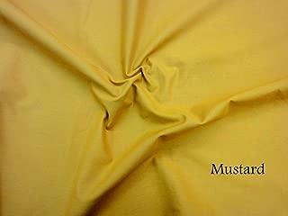 mustard colour material