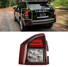 MotorFansClub for Jeep Compass 2014-2017 Tail Lamp Light LED 5272909AB Left Driver Side (US Shipment)