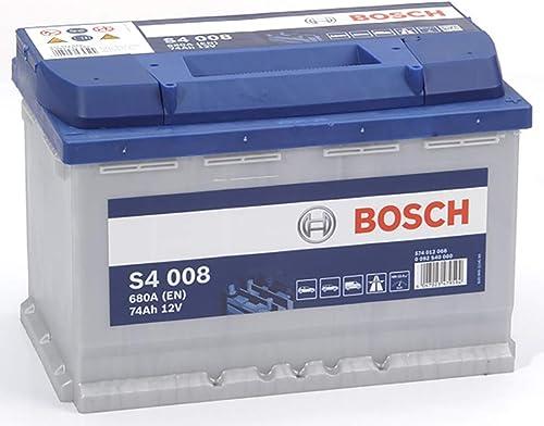 Bosch S4008 Batterie de Voiture 74A/h-680A