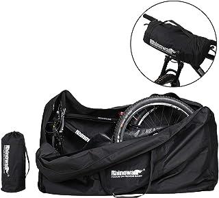 LKN Bolsa de almacenamiento plegable para bicicleta con bolsa de transporte