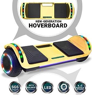 Beston Sports Newest Generation Electric Hoverboard Dual Motors Two Wheels Hoover Board..