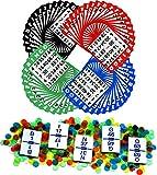 Regal Games Bingo Game Set con 13,3cm Bingo Cards, Bingo Calling Card Deck, e Bingo Chip...