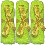 3 pcs/set LONG Home Sauna Spa Exfoliating Nylon Bath Cloth/Towel - Body Back Scrubber - Magic Shower Washcloth For Body - Shower Scrubber - Remove Dead Skin - Great for Skin Care in the Bath