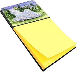 Multicolor Carolines Treasures SS8343SN Labrador Refiillable Sticky Note Holder or Postit Note Dispenser Large