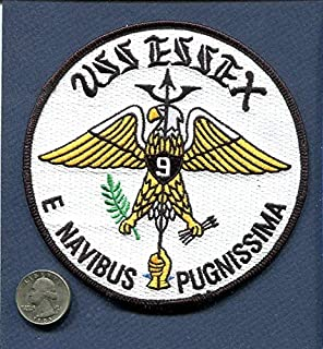 Embroidered Patch-Patches for Women Man- CV-9 USS Essex