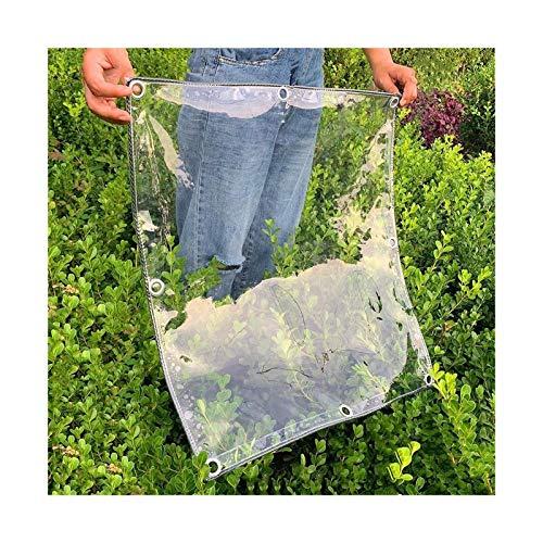 CXF wasserdichte Transparente Plane Garden Heavy Duty/Frostschutzmittel/UV-Schutz/Winddicht Pflanzenisolationsabdeckung (Size : 1.8 x2 m)