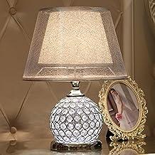 Bedside lamp, European Style Desk lamp, Living Room, Creative Desk lamp, Bedroom Bedside lamp, dimming Study Room, Decorat...