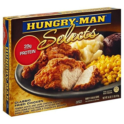 Hungry Man Classic Fried Chicken Meal