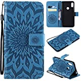 nancencen Coque Compatible avec Motorola Moto One Power / P30 Note - Cuir Flip Étui/Portefeuille...
