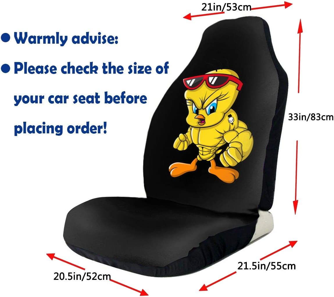 Truck /& SUV N//C Tweety Bird Universal Car Seat Covers Front Seats Protectors for Car