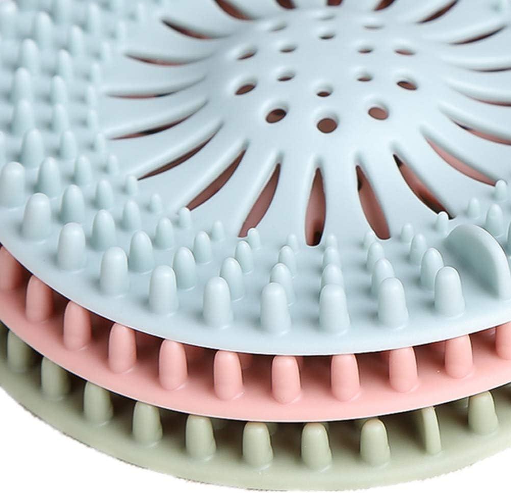 Leikance Hair Catcher,Hair Stopper Sink Strainer Filter Shower Drain Covers for Bathroom Bathtub and Kitchen