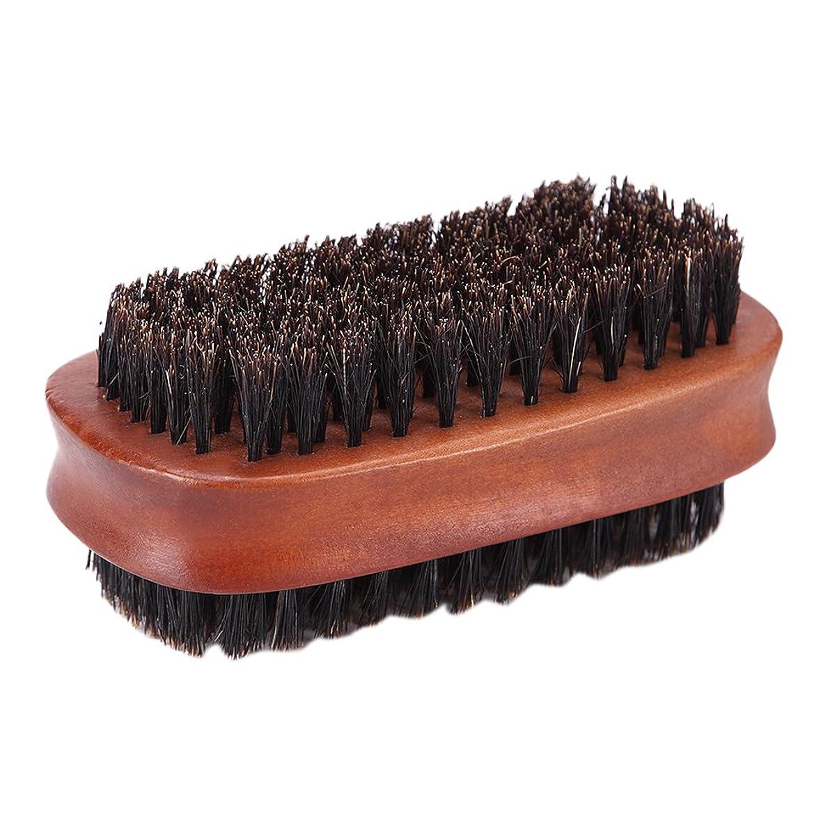 ルーフ段落自治的Homyl ヘアカット ダスターブラシ 両面ブラシ サロン 散髪 ヘアカット 柔らか 使いやすい