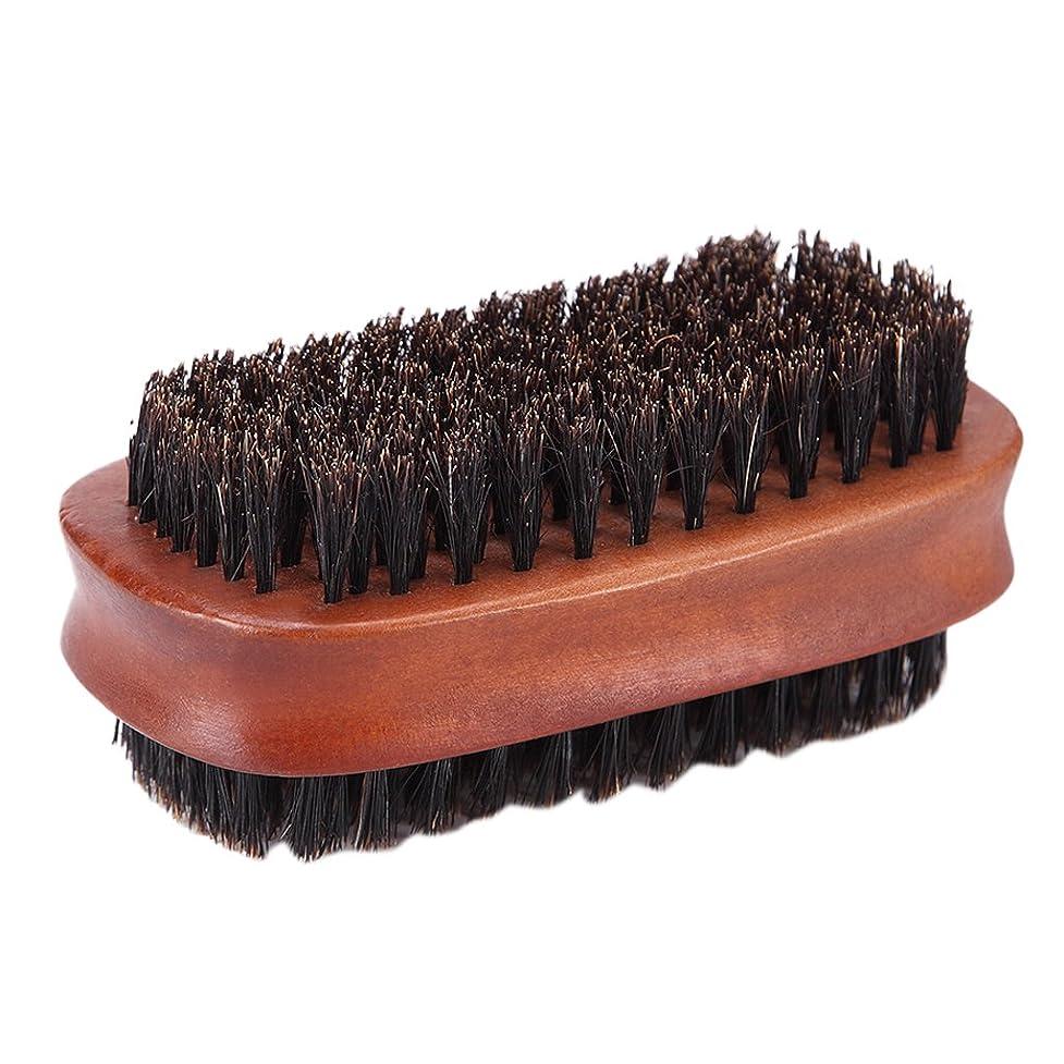 痛い五月逆説Homyl ヘアカット ダスターブラシ 両面ブラシ サロン 散髪 ヘアカット 柔らか 使いやすい
