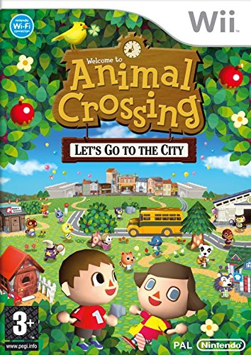 Animal Crossing: Let's Go To The City (Wii) [Importación inglesa]
