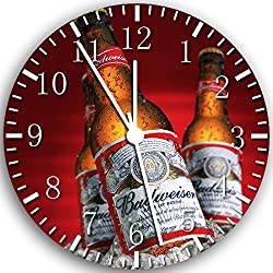 Beer Bar Kitchen Restaurant Frameless Borderless Wall Clock W38 Nice for Gift or Room Wall Decor