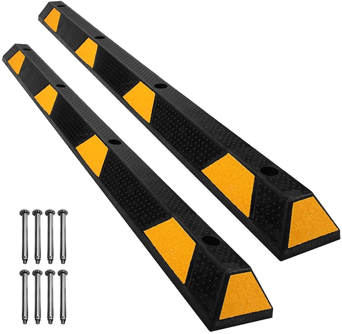 Speedmax Rubber Parking Stoppers Finally popular brand for 72