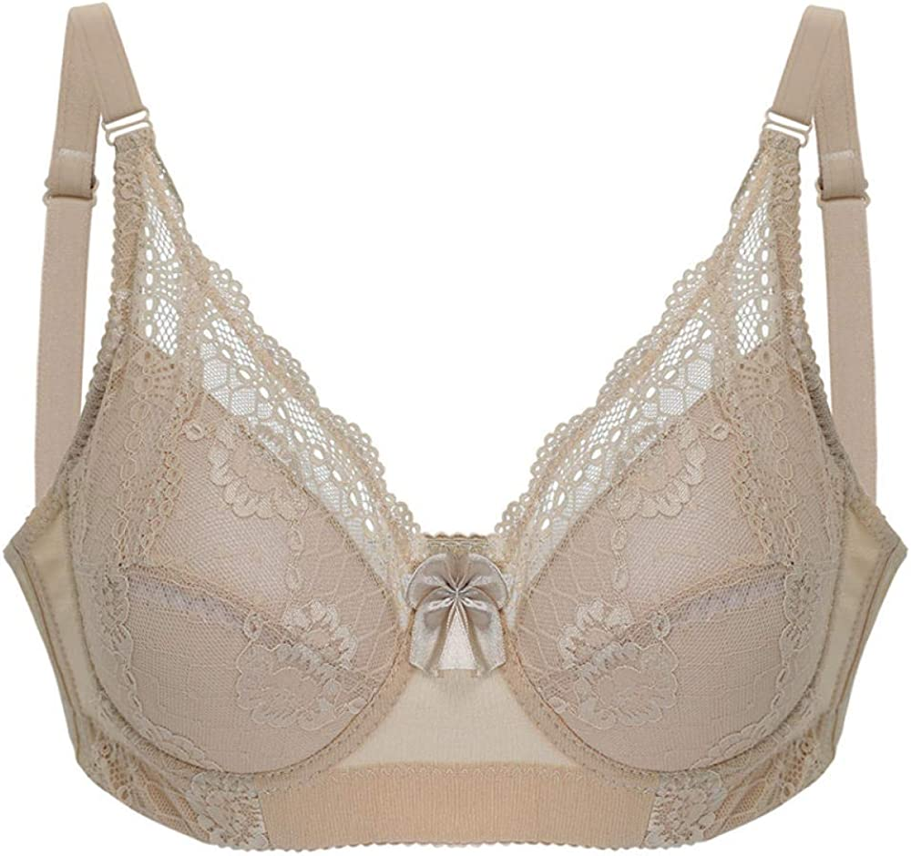 Sticky Bra Women's Exotic Deluxe Bras Ladies Big Size Lace Push 4 Cup Over item handling ☆ 3