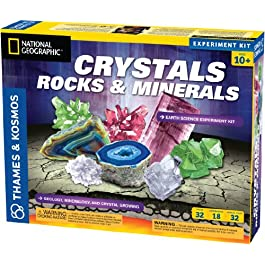 Thames & Kosmos Earth Science Crystals, Rocks, and Minerals