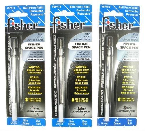 Fisher Space Pen 3 Kugelschreibermine Blau Breit