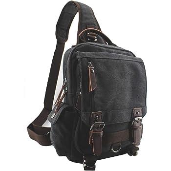 UK Womens Canvas School Backpack Shoulder Bag Travel Rucksack Satchel Bags Lot