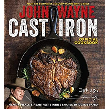 John Wayne Cast Iron Official Cookbook