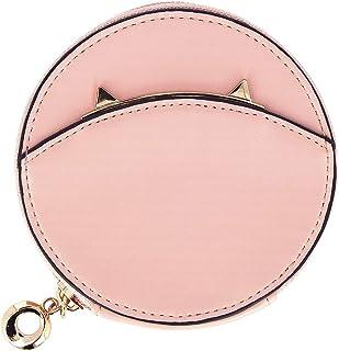 Color Pop® Porte-Monnaie Rond (Rose) - Femme/Fille - en PU - 10,8 x 2.4 cm - Cartes/Billets/Monnaies/papiers Divers